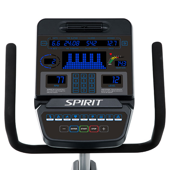 Spirit Fitness CR900 Console Display